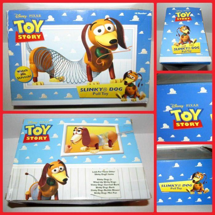 Disney Pixar Toy Story Slink Large Slinky Dog Pull Toy Original In