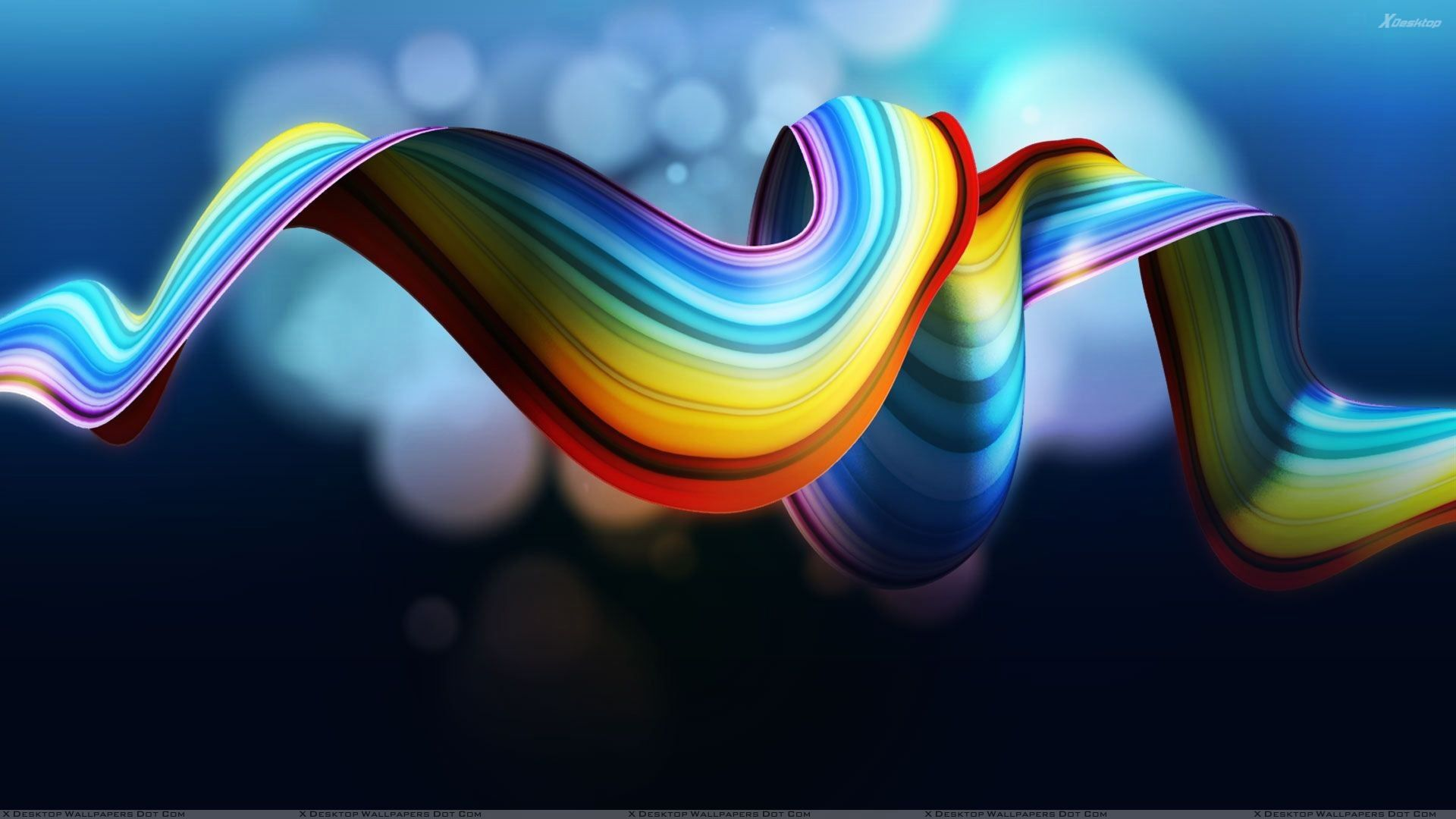 Hd Wallpaper Rainbow Abstract Backgrounds Is An HD