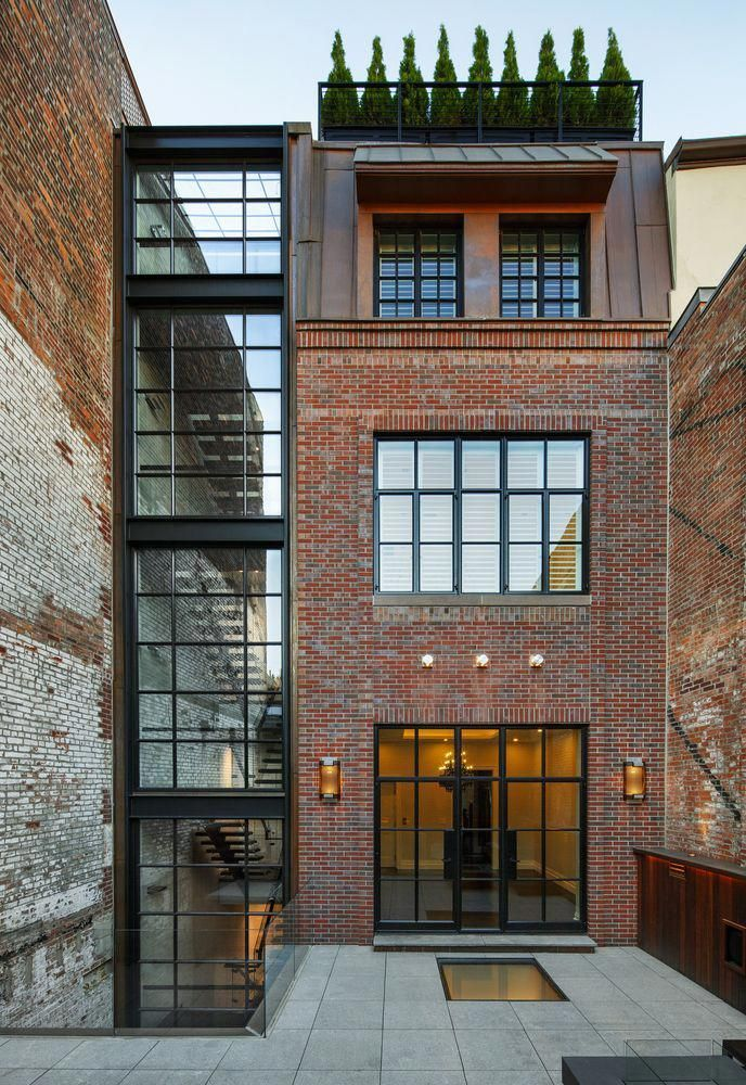 Gallery of chestnut street townhouse hacin associates interiorarchitecture also best images in rh pinterest