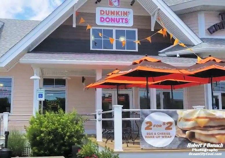 Dunkin Donuts 67th Street Town Center Ocean City Cool Ocean City Ocean City Md Ocean