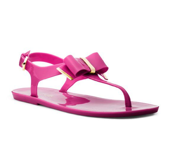2d8bc3b663f5f Amazon.com: Michael Michael Kors Kayden Jelly Thong Sandals in ...