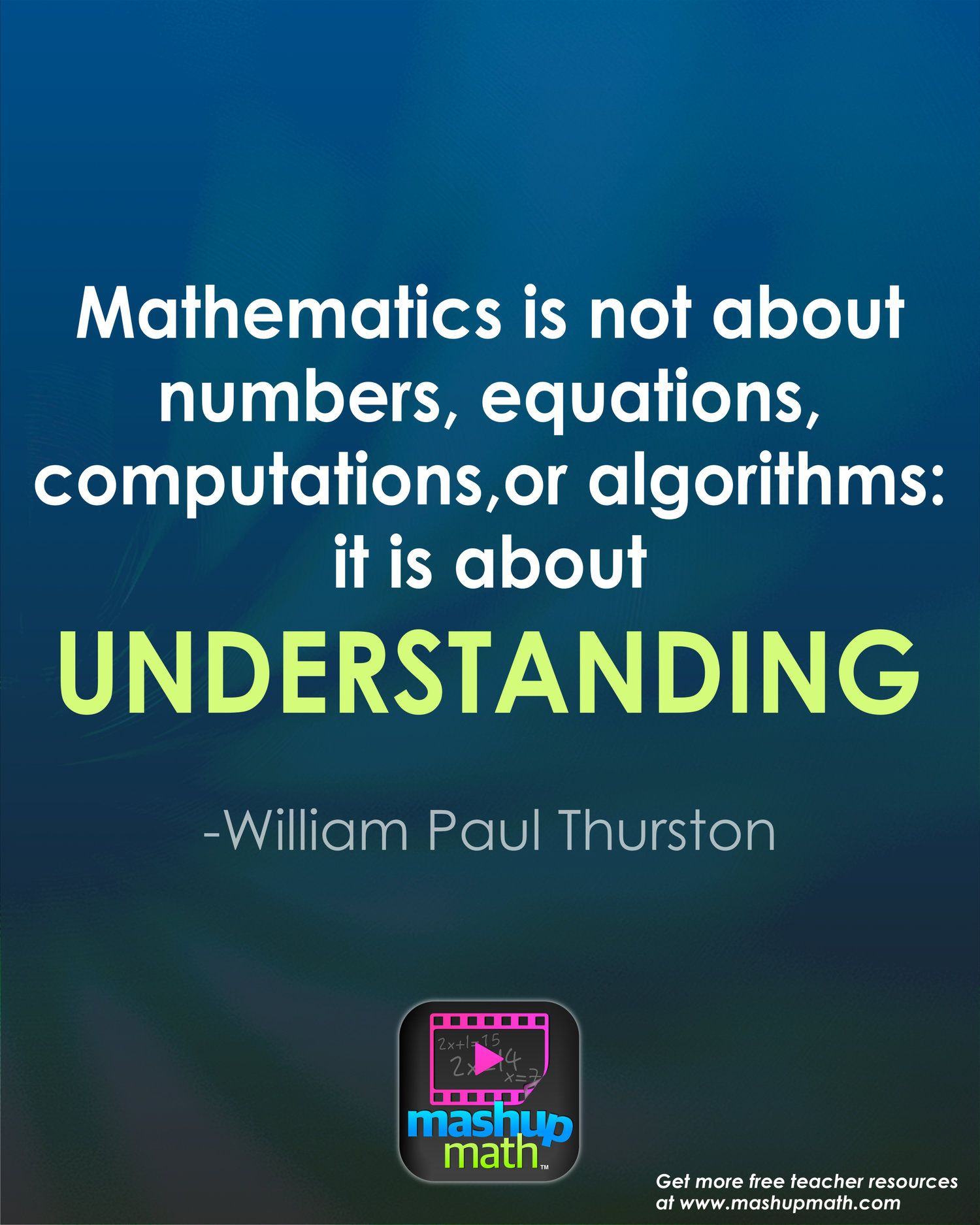 Teaching Maths 17 Groovy Math Quotes To Post In Your Classroom Math