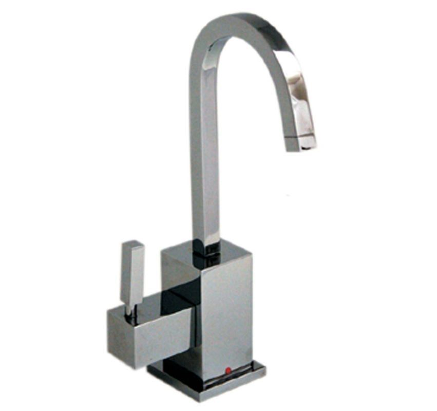 Whitehaus WHSQ-H003 Q-Haus Contemporary Square Instant Hot Water ...