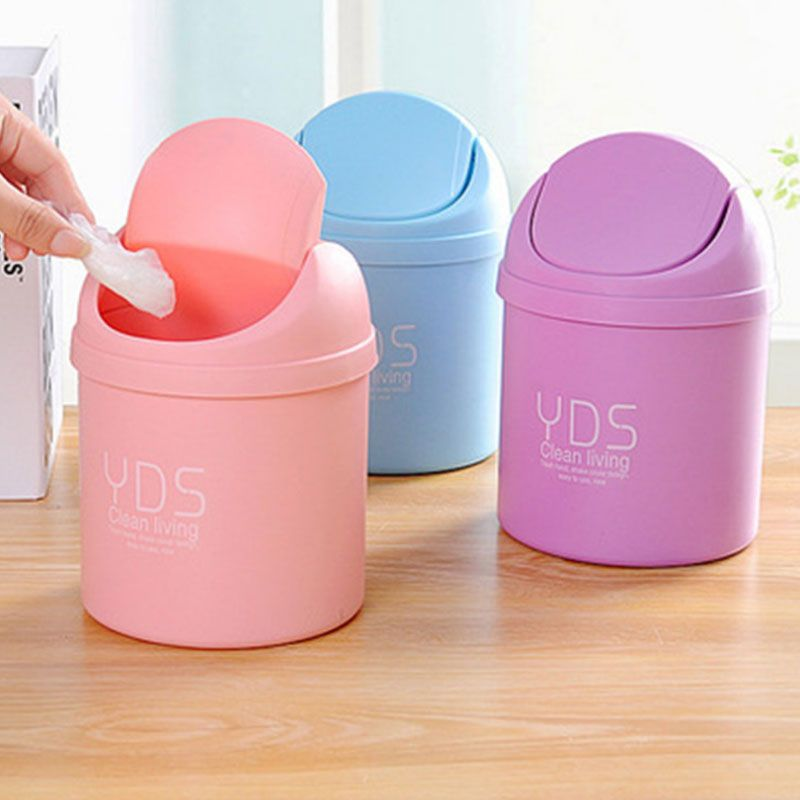 Small Garbage Cans Plastic Trash With Lids Metal