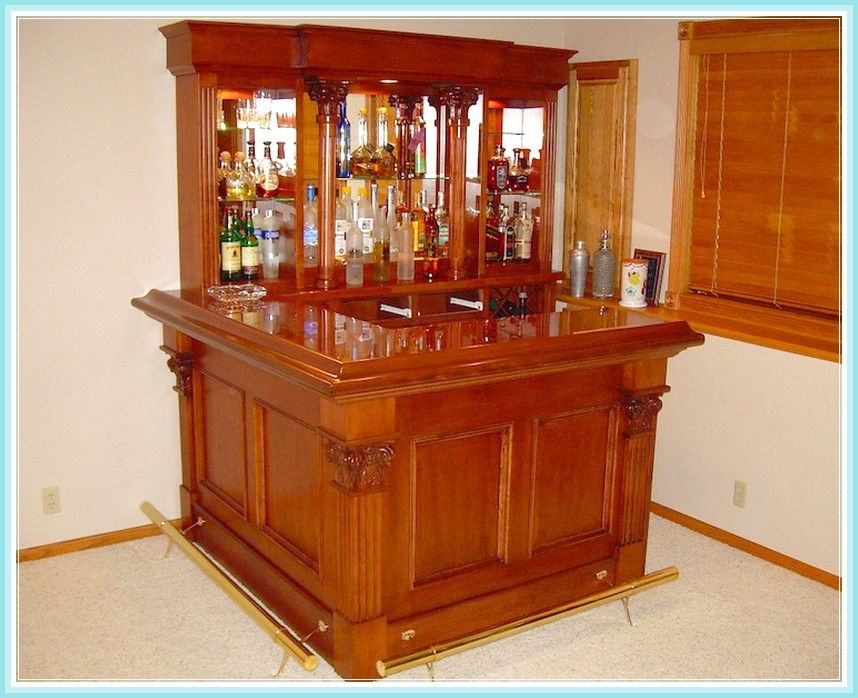 Corner Bar Unit Designs