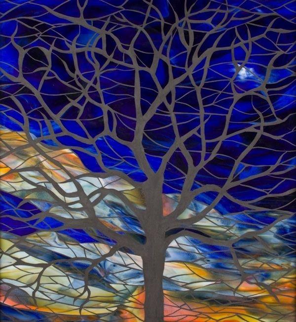 TREE OF LIFE ~ GLASS MOSIAC