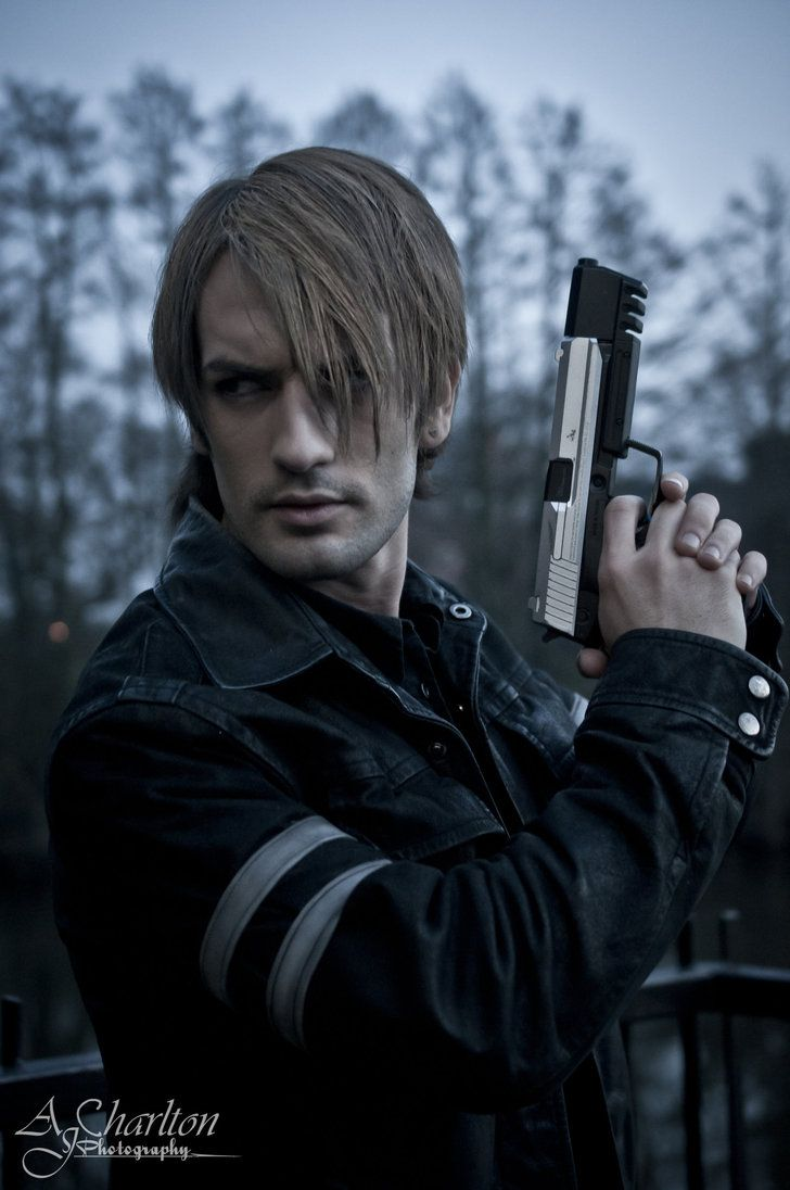leon s.kennedy cosplay by leon chiro cosplay art by