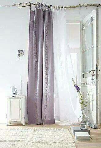 Tree Branch For Curtain Rod Purple Curtains Curtains Bedroom