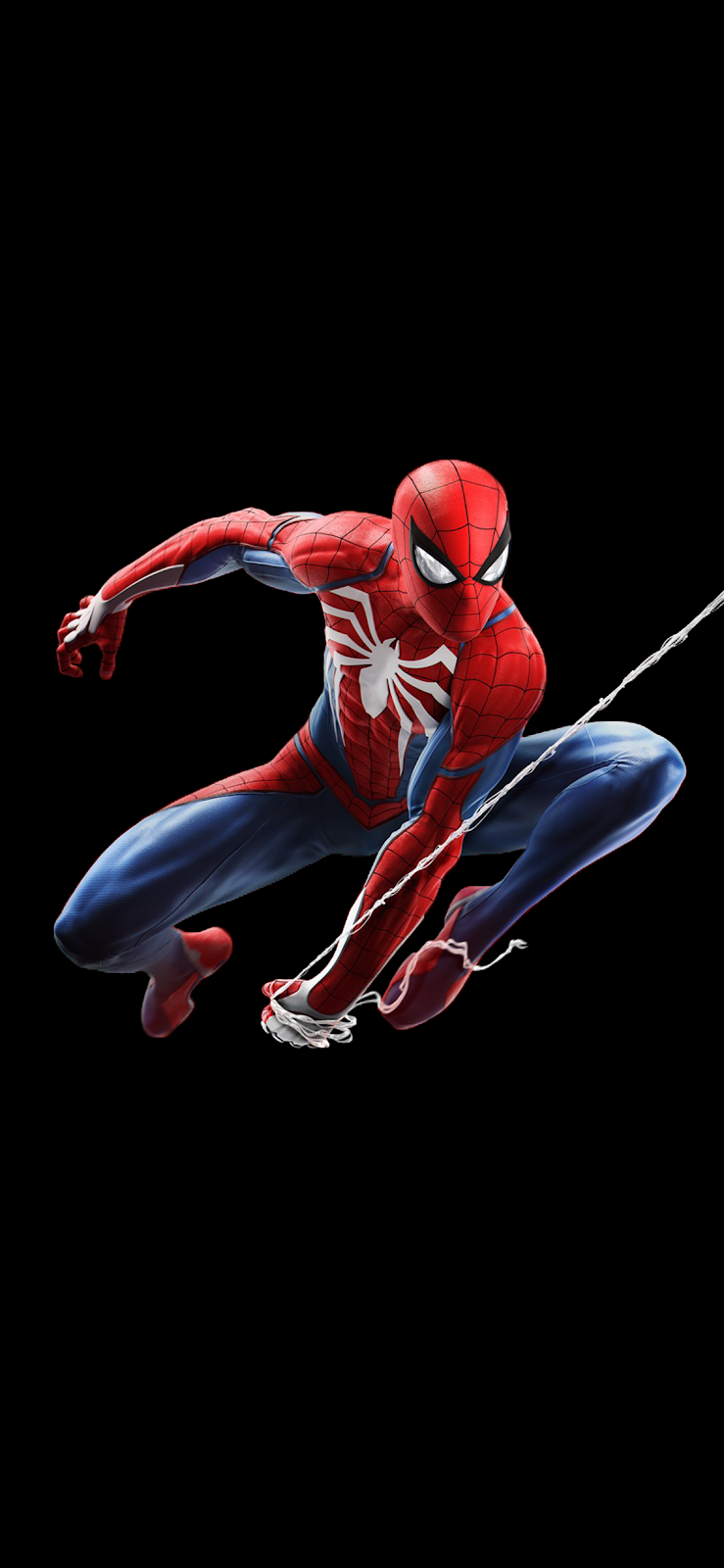 Spider Man V2 Iphone X Saving Battery For Amoled Display