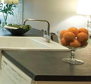 Basalt Slate 3000 Profile Kitchen Countertop Post Formed Kitchen
