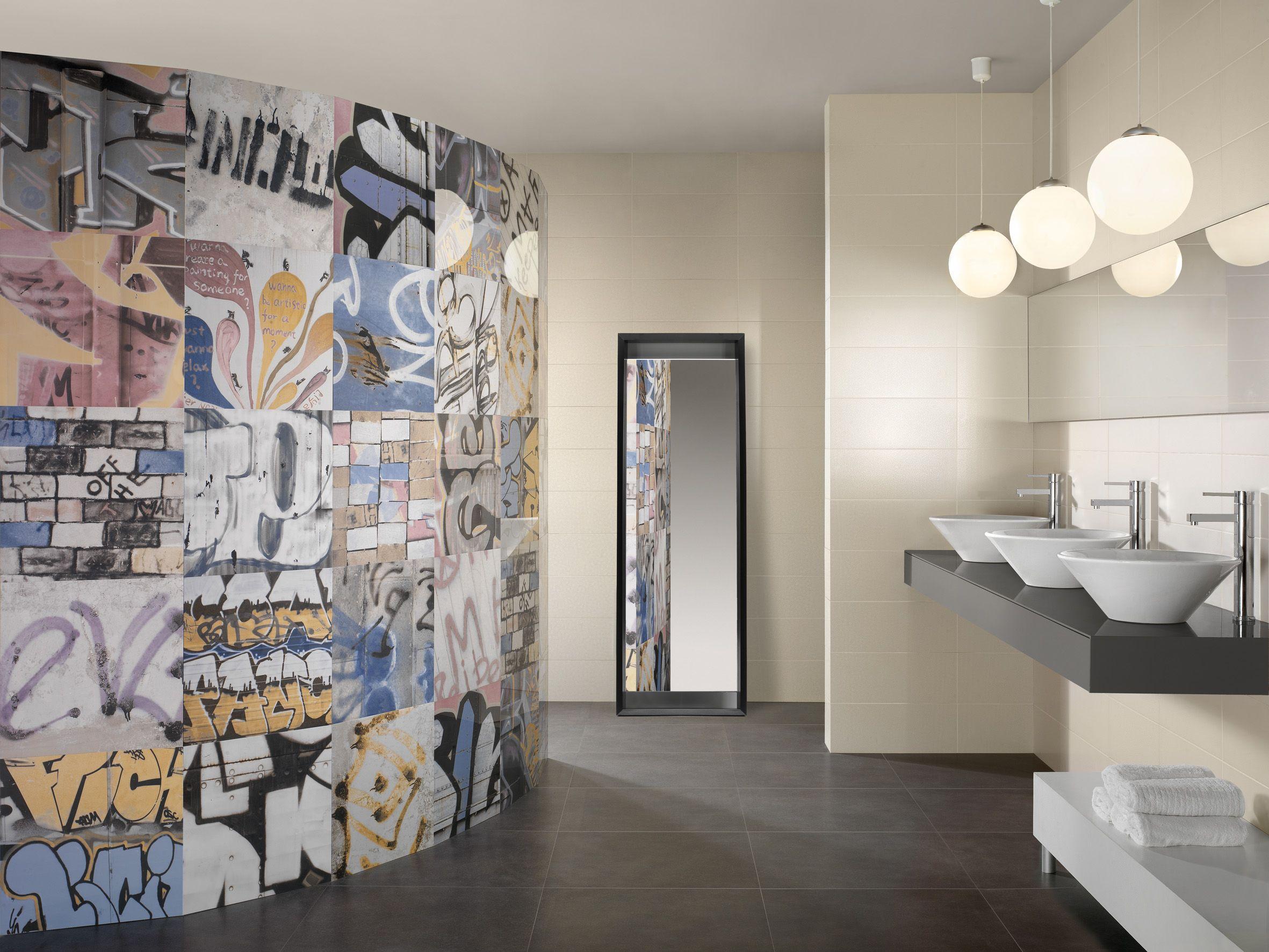 Street Art Graffiti Bathroom Tile From Beaumont Tiles
