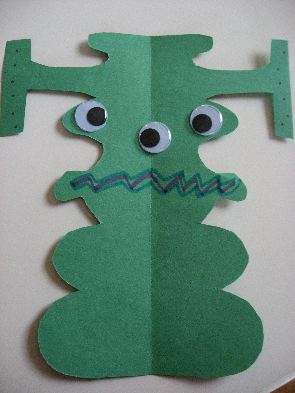 Kids Craft Project Ideas Part - 36: Name Alien Craft U2014 Blog: Art Activities U0026 Fun Crafts Project Ideas For Kids  U2014