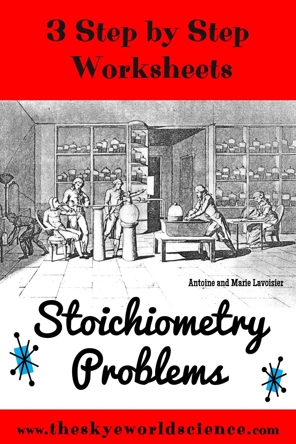 Bundle of Lessons Stoichiometry Problems Step by Step