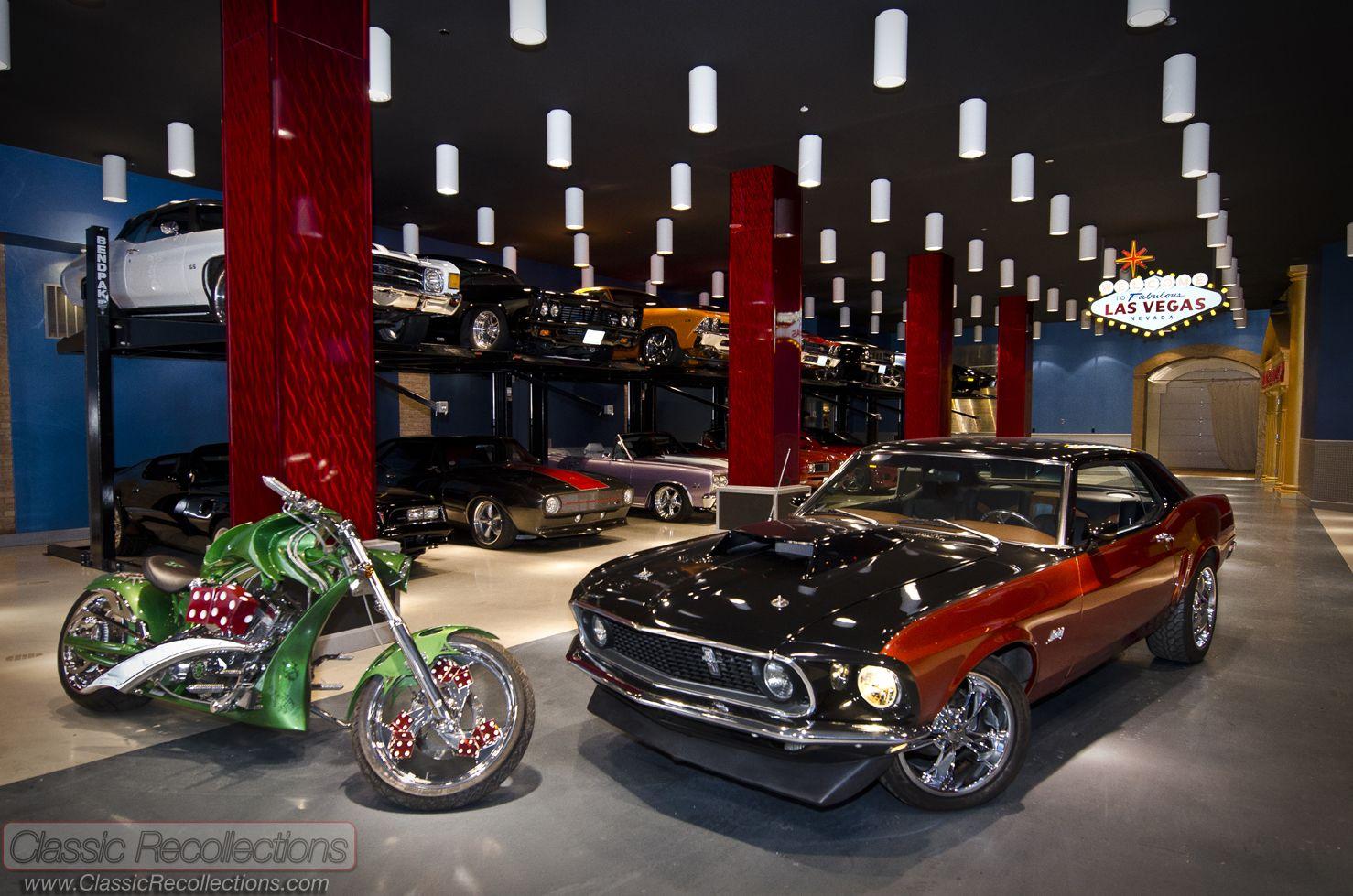 What Happens In Vegas Cool Garages Luxury Garage Car
