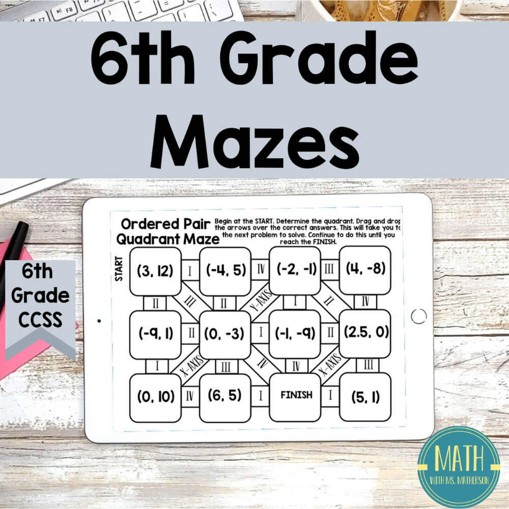 50+ Online worksheets for 6th graders Awesome