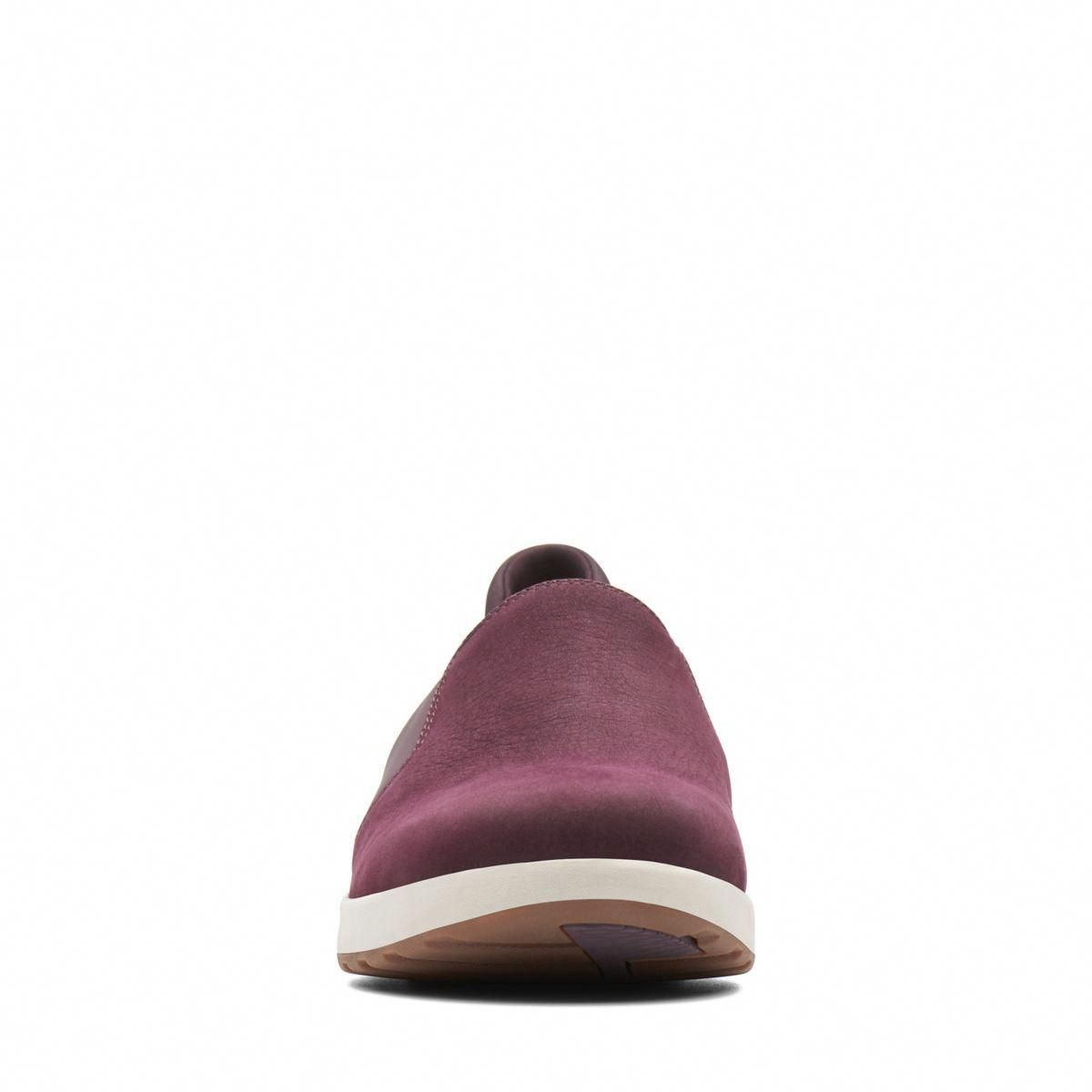 249c0b4ec Clarks Un Adorn Step - Womens Shoes Aubergine 7.5 E (Wide) Out Of Stock   Womensshoes8.5Narrow