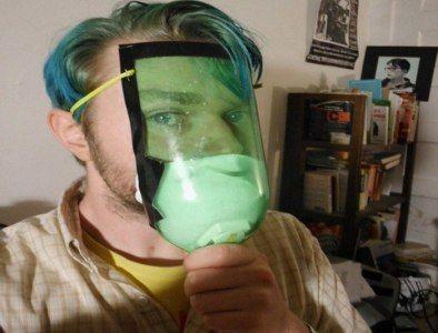 máscara antigas casera