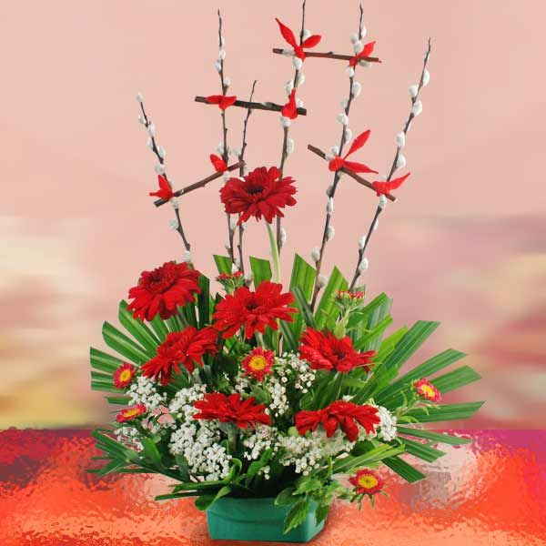 Image result for chinese new year flower arrangement