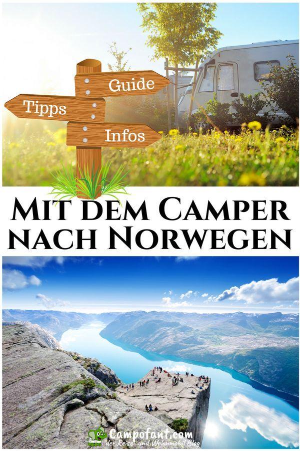 Mit dem Wohnmobil nach Norwegen: Tipps + Erfahrungen – Campofant
