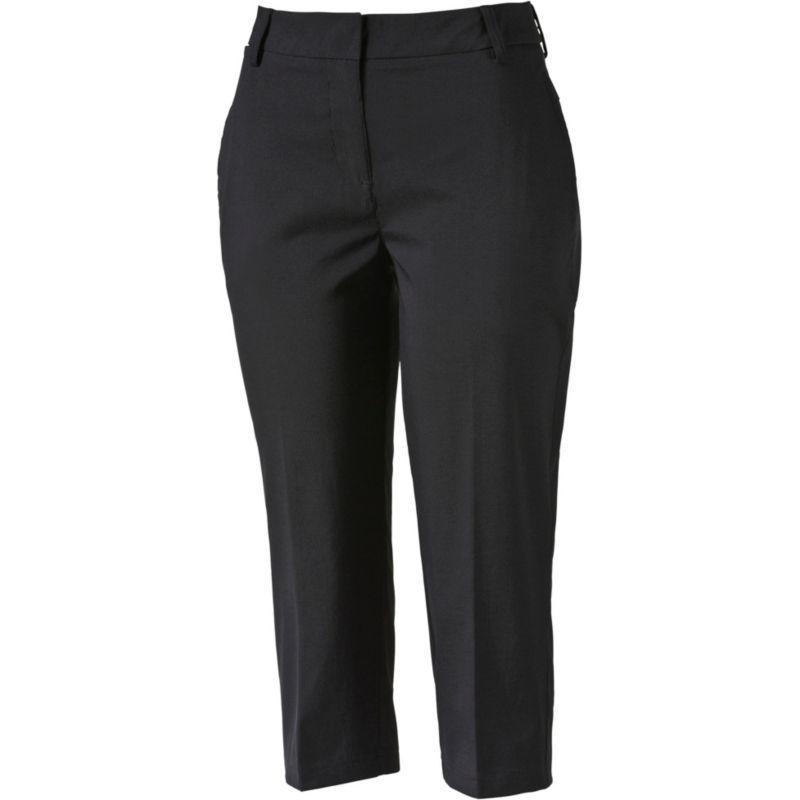Puma Women's Pounce Capri Golf Pants, Size: 14, Black