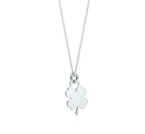 bacac15aaf915 Four-leaf clover tag charm and chain   Gifts for Moi   Four leaf ...