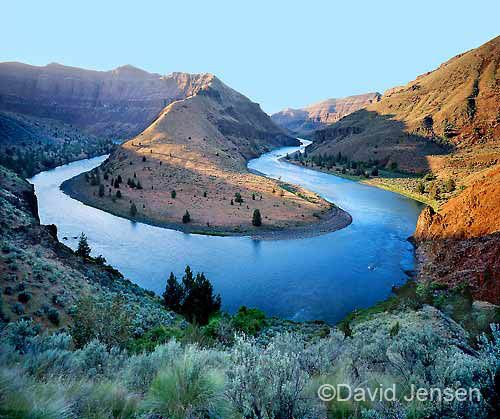 john day river at arch bend photo by david jensen amazing  john day river at arch bend photo by david jensen