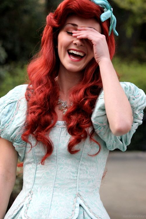 i want to dress up like human Ariel