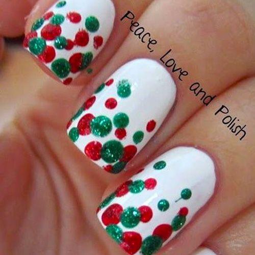 Diy Christmas Nail Art 50 Christmas Nail Designs You Can Do