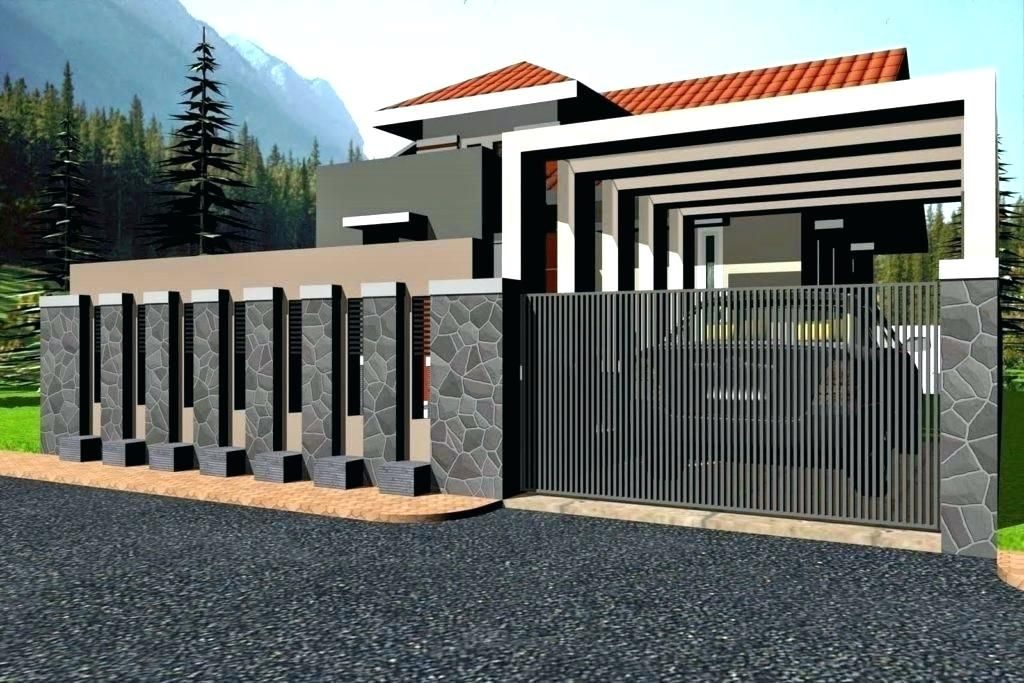 Modern Gate Design 2018 Modern Gate Design Modern House Gates And