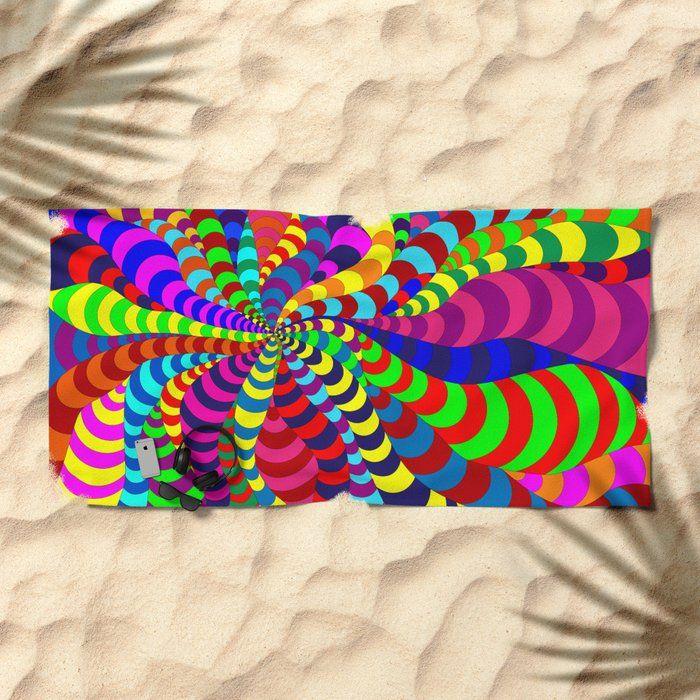 Buy Snake Spider Beach Towels By Notsundoku Society6 Patterns