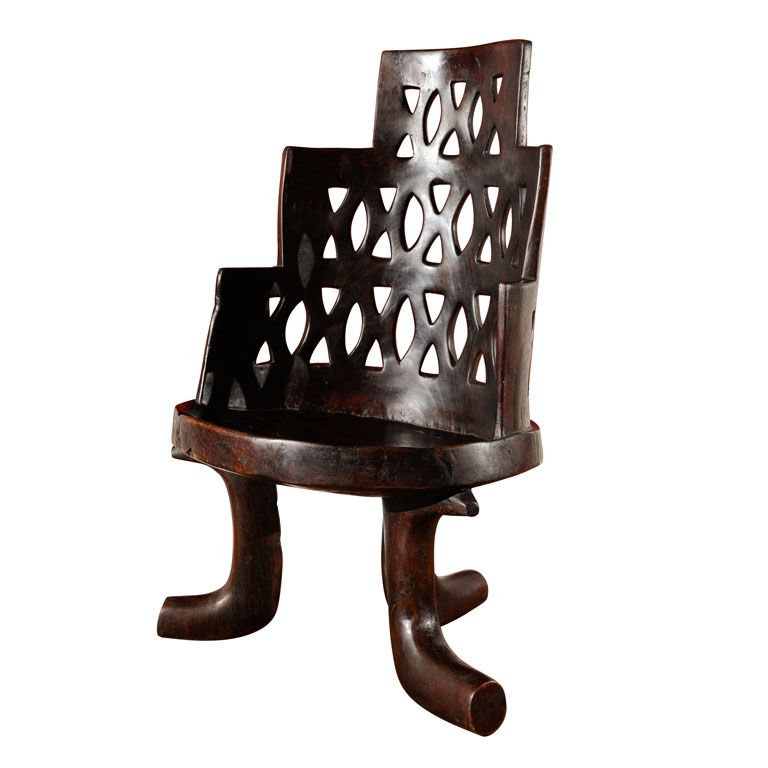 Authentic Period Jimma Chair From Ethiopia 1stdibs Com African Furniture African Interior Design Chair