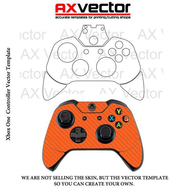 xbox one controller vector template templates pinterest xbox