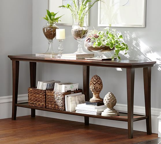 Metropolitan Long Console Table Pottery Barn