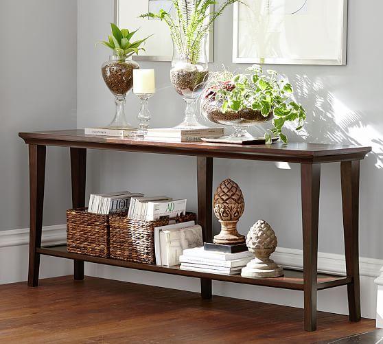 Metropolitan Long Console Table Table Decor Living Room