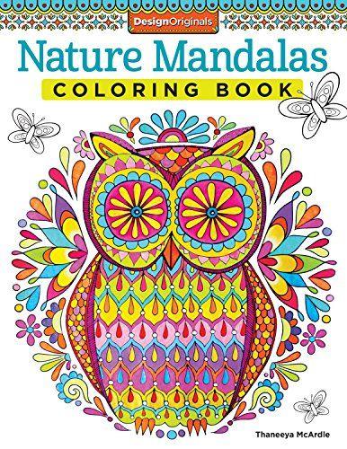 Nature Mandalas Coloring Book (Design Originals) by Thaneeya McArdle ...