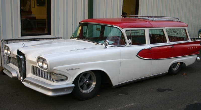 1959 Edsel Wagon Is Craigslist Vintage Find Of The Week Edsel Wagon Edsel Ford