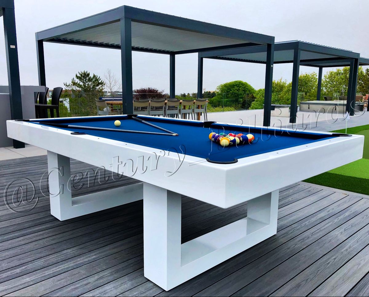 Soho Outdoor Pool Table Outdoor Pool Table Outdoor Living Design Outdoor Pool Modern outdoor pool table
