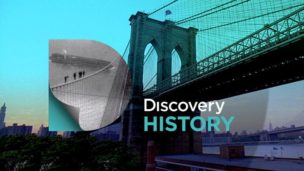 Discovery History Identity on Behance History channel