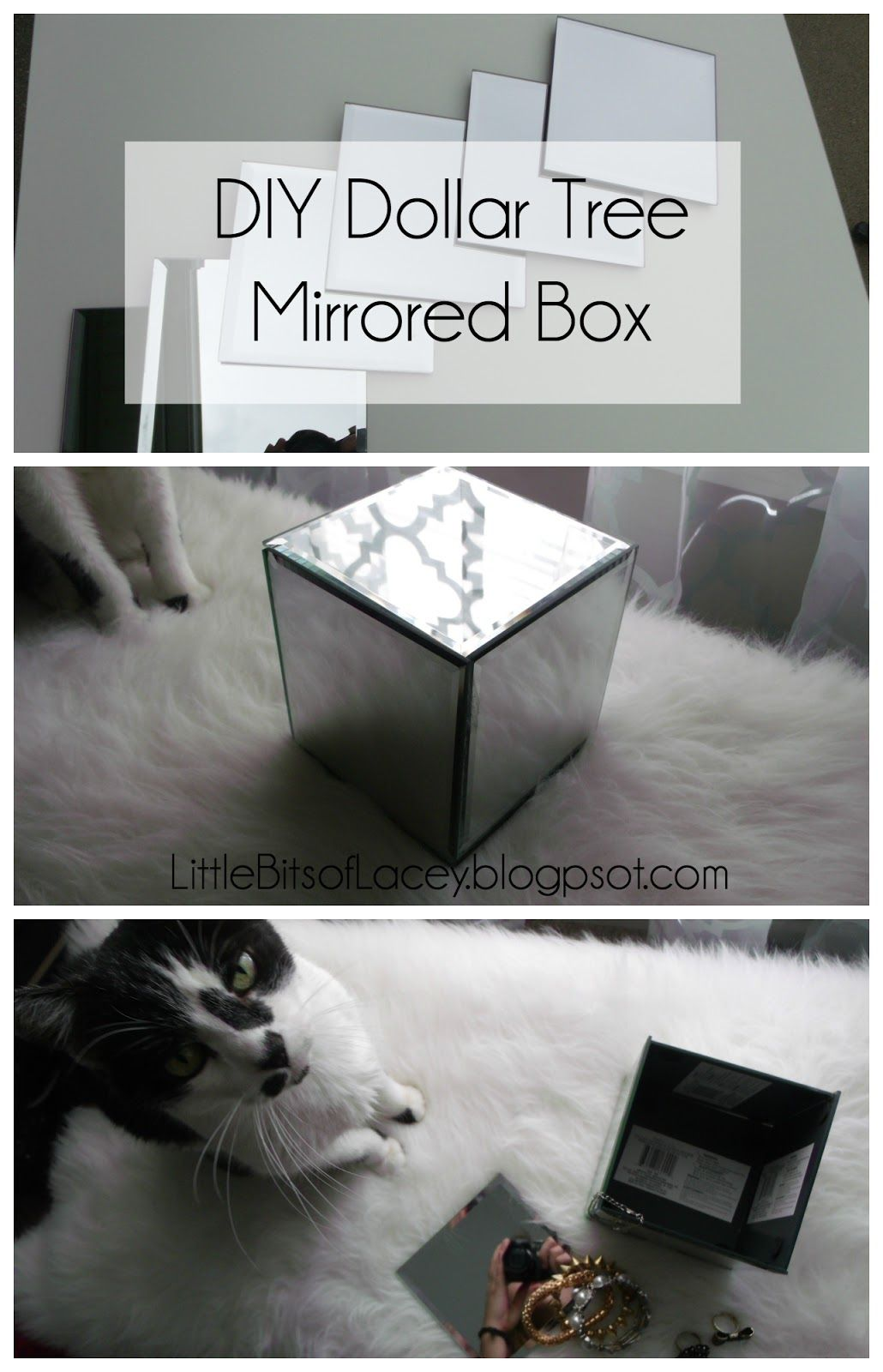 Diy Dollar Tree Mirrored Box Little Bits Of Lacey Share Your