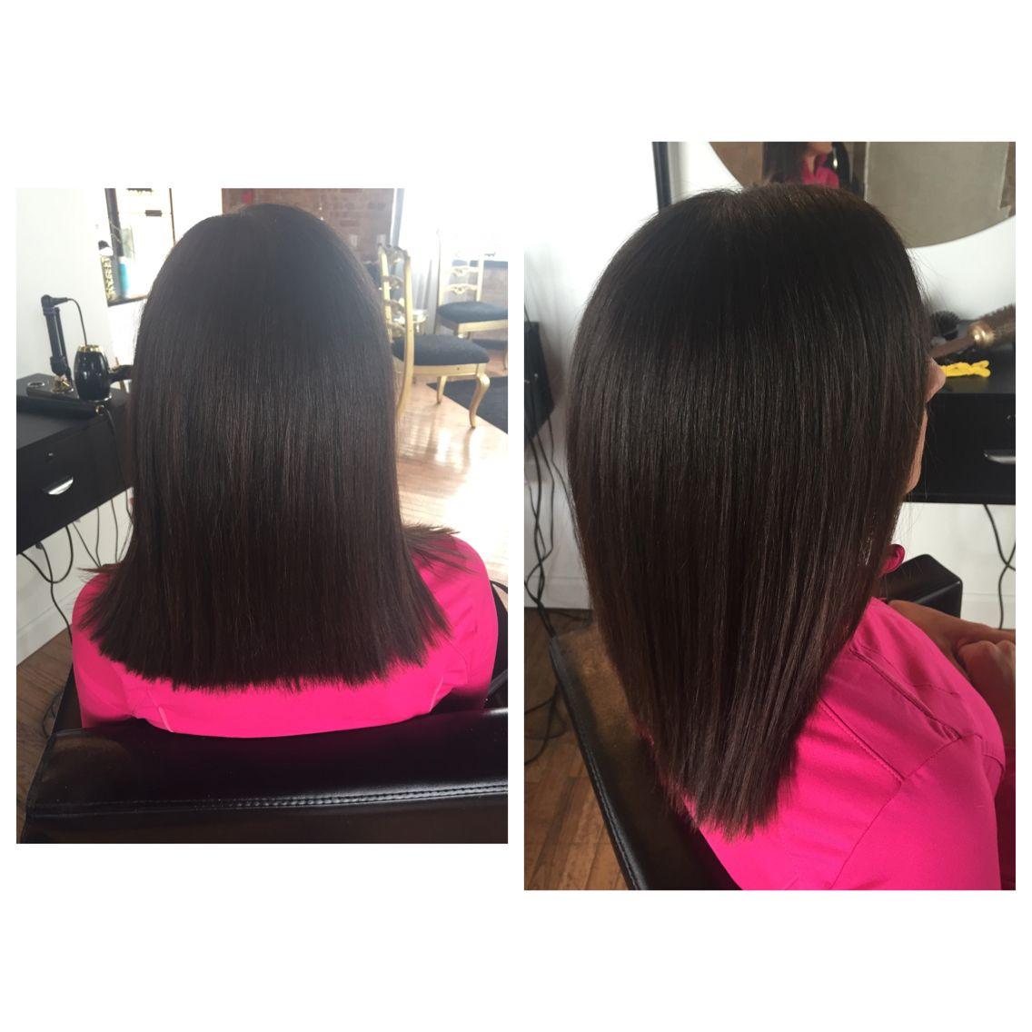 Colorkeratin Treatment Cut Kari Harlan Hair Make Up