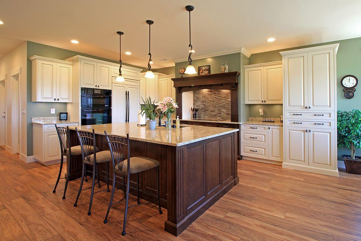 Lower Ridge Custom Feature Projects Green Kitchen Walls Sage Green Kitchen Walls Beautiful Kitchen Cabinets