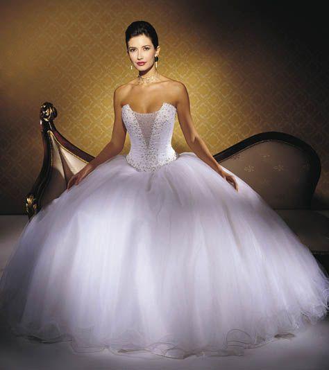 Princess Wedding Dresses with Bow