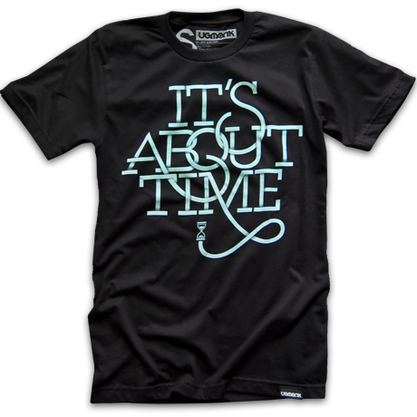 It's about time ... for a well designed tee.