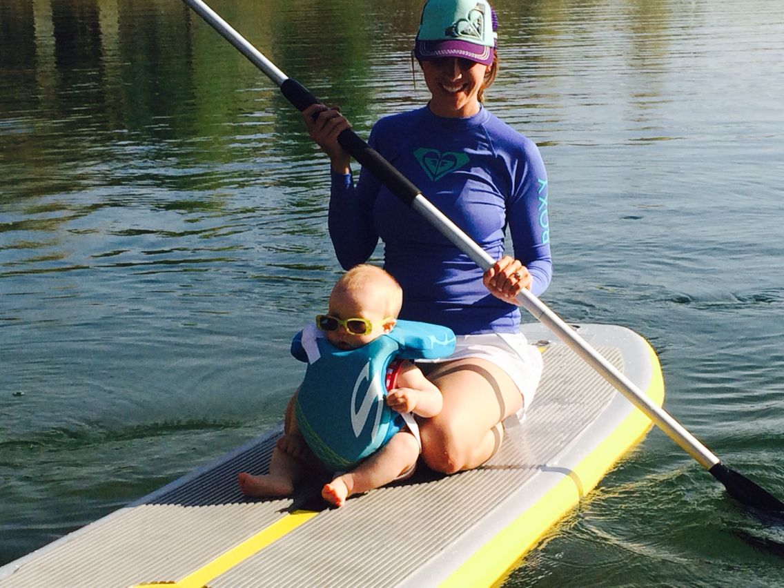 bc468419d2 Baby loves paddle boarding! Paddle board Idaho! | Paddle boarding ...