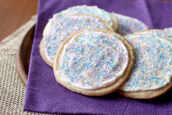 Simple Easter sugar cookies