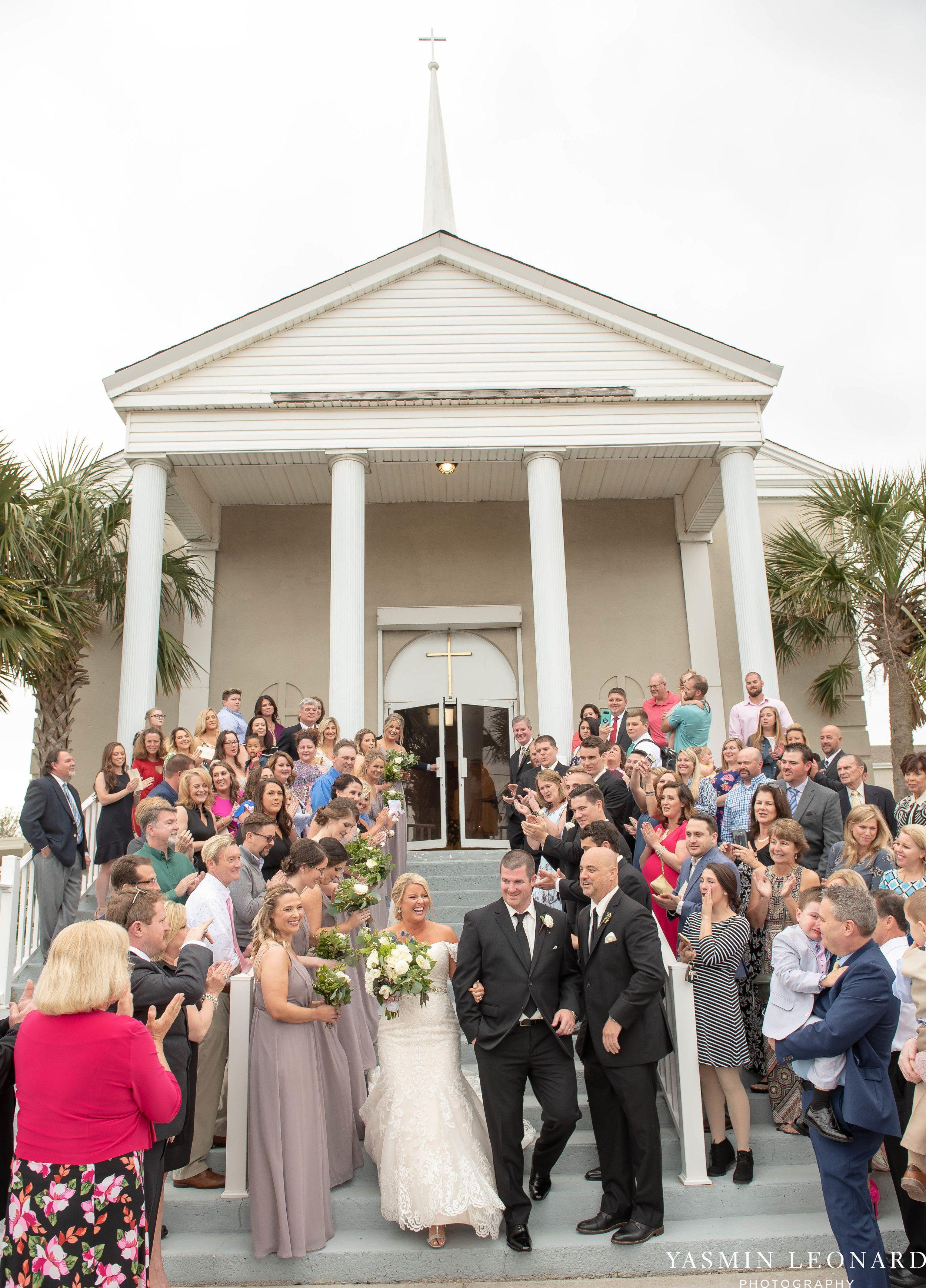 Carolina beach wedding fort fisher wedding nc