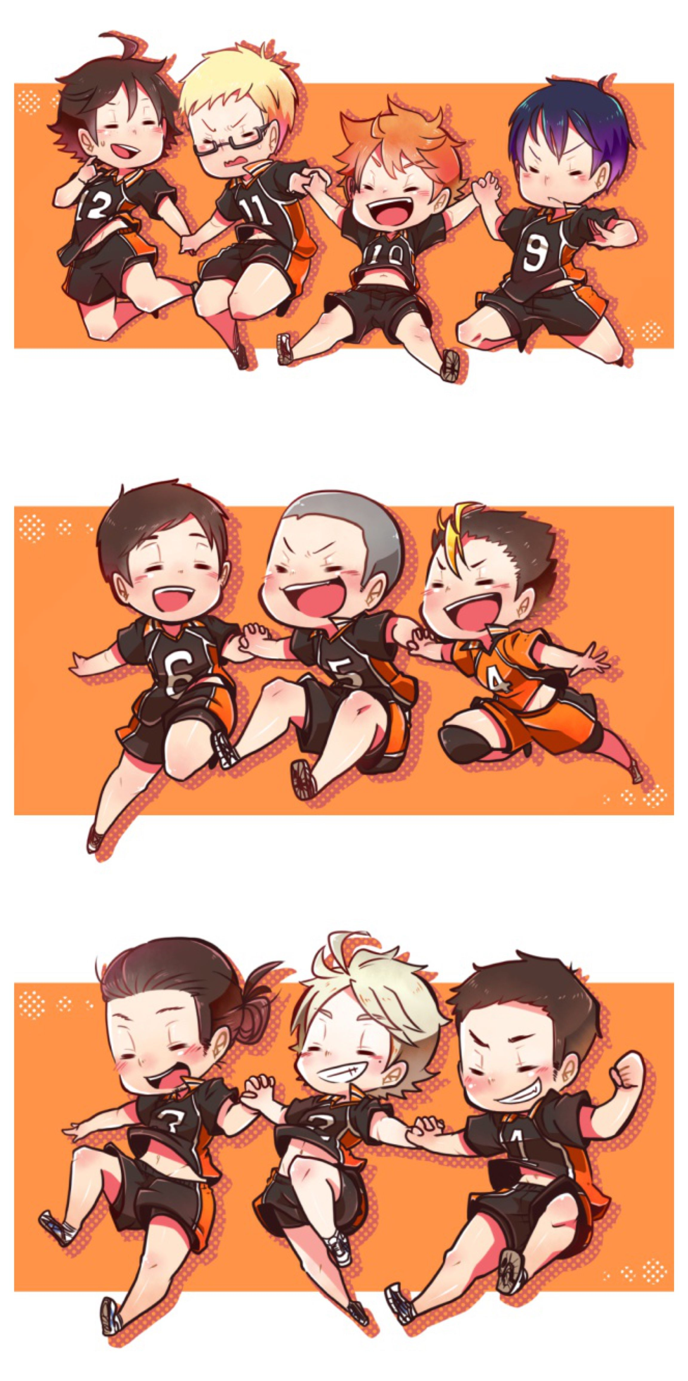 Haikyuu Chibi Please Take A Moment To Appreciate Daichi S Thighs In This Chibi Suga Is As Cute As Always And Haikyuu Karasuno Haikyuu Anime Haikyuu Fanart