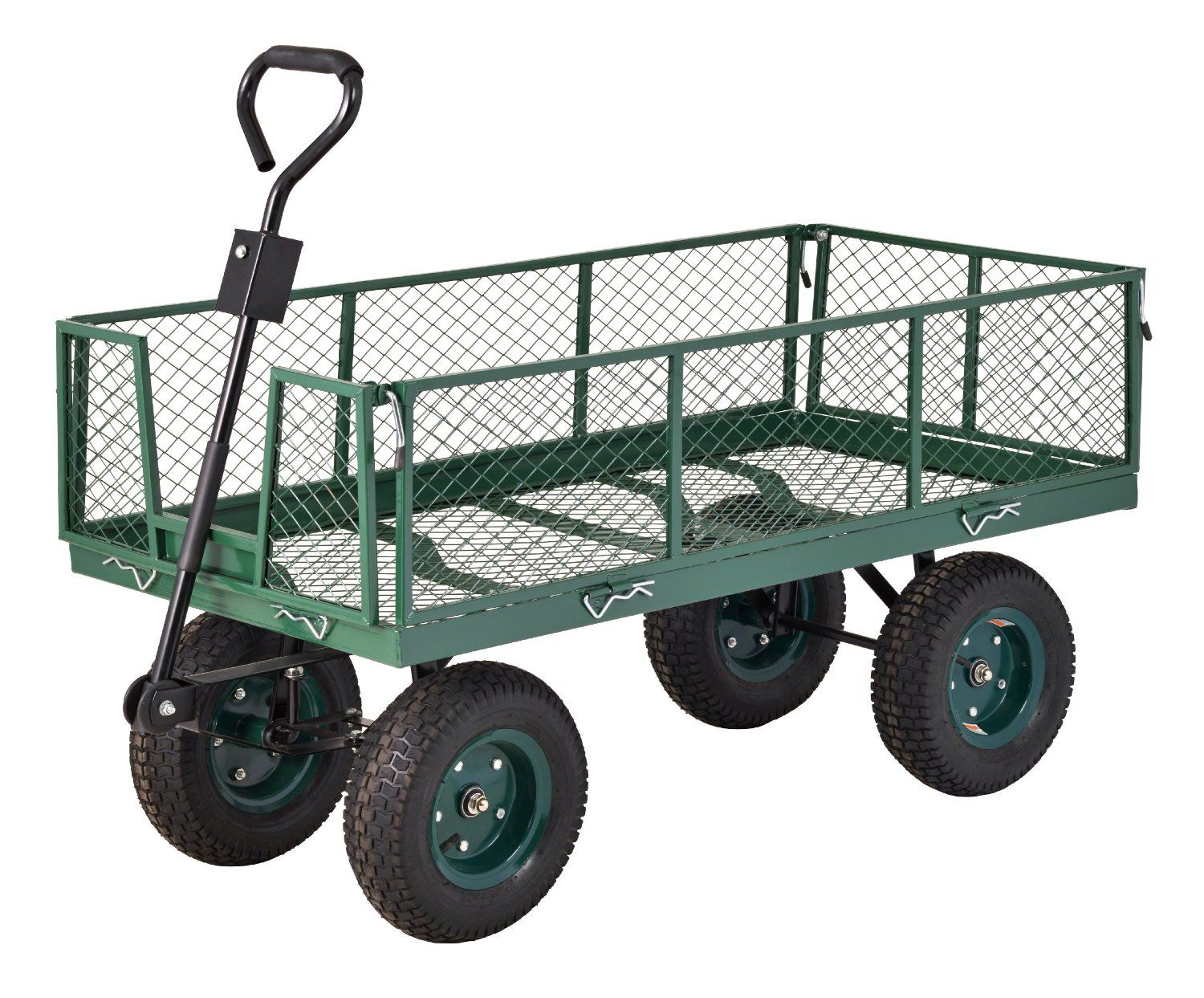 Attractive Sandusky Lee CW Steel Crate Wagon, Green, 1000 Pound Load Capacity, 27