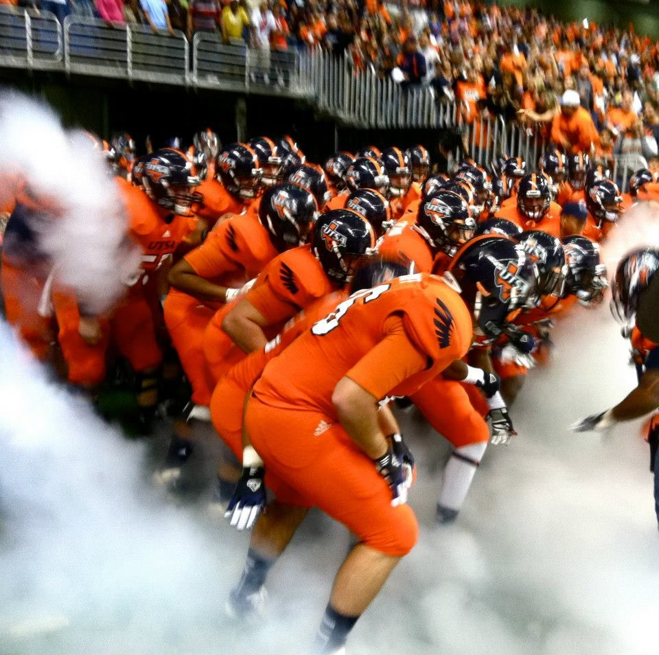 Orange Out. GoUTSA Football, Gameday, College football
