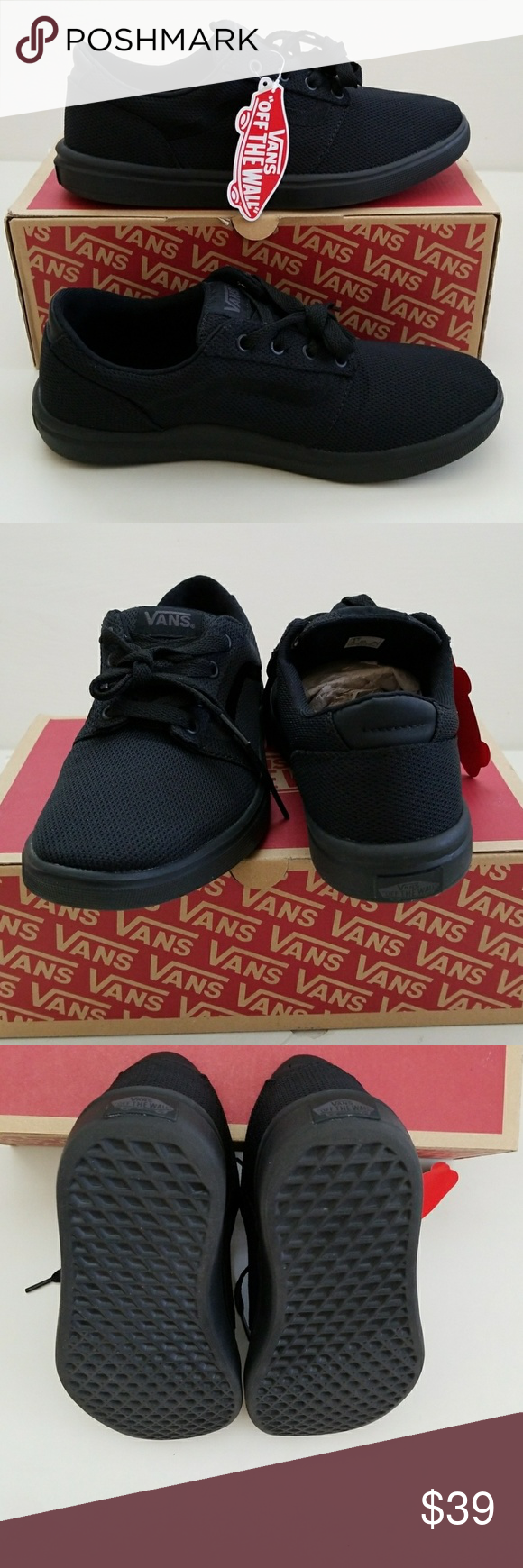 d895ed94f8 NWT Men s Vans Super Lightweight New men s Vans lightweight and cushy foot  bed for added comfort. These were store sample shoes.